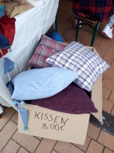 Kissen aus alten Hemden